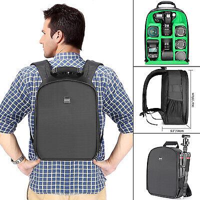 "Neewer Camera Bag Waterproof Shockproof Partition 11x6x14"" Backpack for SLR DSLR"