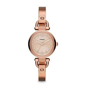 FOSSIL GEORGIA ROSE GOLD STAINLESS STEEL WATCH