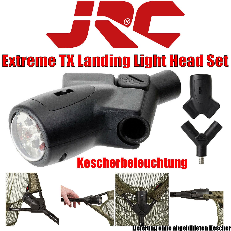 JRC Extreme TX Landing Light Head Set Kescher Kopf mit Lampe Kescherbeleuchtung