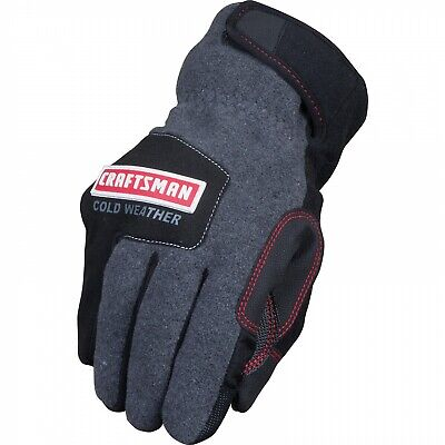 Craftsman Cold Weather Thinsulate Work Gloves - Touch Screen Capable - Large