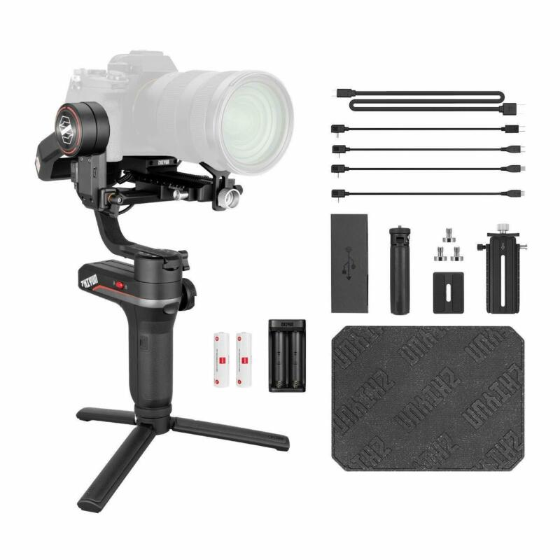 US Ship Zhiyun WEEBILL S 3-Axis Gimbal Handheld Stabilizer For Mirrorless DSLR