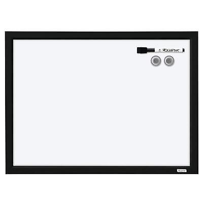 Dry Erase Board Whiteboard White Board Magnetic 17 X 23 Black Frame