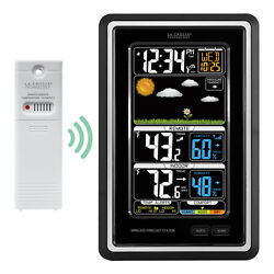 S88907 La Crosse Technology Wireless Color Weather Station with TX141TH-BV2 NIB