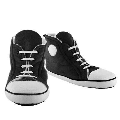 Hausschuhe Sneaker in schwarz für Männer Pantoffeln Sportschuh Winter 1x Paar (Haus Hausschuhe Sport)