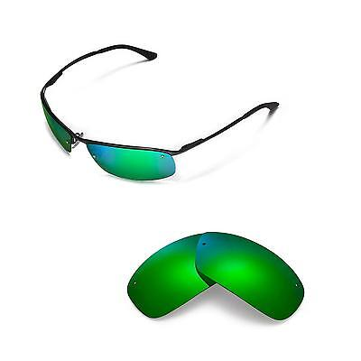 2bc8c48341 New Walleva Polarized Emerald Replacement For Ray-Ban RB3183 63mm