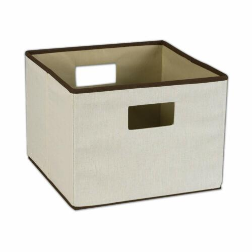 Household Essentials Open Storage Bin with Cutout Handles, N