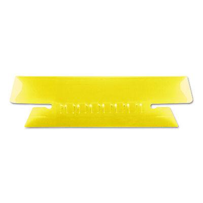 Pendaflex Hanging File Folder Tabs 13 Tab 3 12 Inch Yellow Tabwhite Insert 25