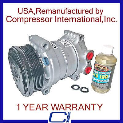 96-99 Tahoe,97-98 S10 4.3L,96-98 Sonoma 4.3L,96-99 Yukon Reman A/C Compressor