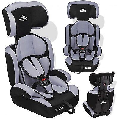 Kidiz® Sillas de coche de niño para coches Niños y Niñas Booster gris NUEVO