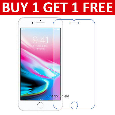 For Apple IPhone 8 - 100% Genuine Tempered Glass Film Screen Protector New