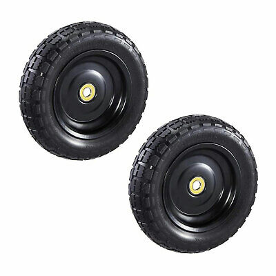 Gorilla Carts 10 Inch No Flat Replacement Tire For Utility Cart 2 Pack Used