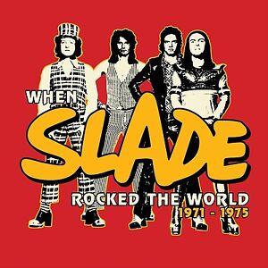SLADE - WHEN SLADE ROCKED THE WORLD 1971-1975 (BOX SET) 11 VINYL LP + CD NEU