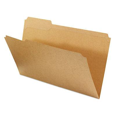 Universal Kraft File Folders 13 Cut Assorted Top Tab Legal Kraft 100box 16143