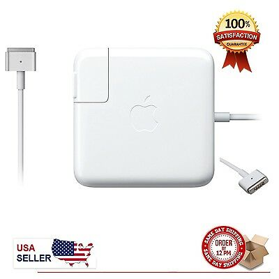NEW Original 60W Magsafe 2 Power charger Adapter for Apple MacBook pro 13