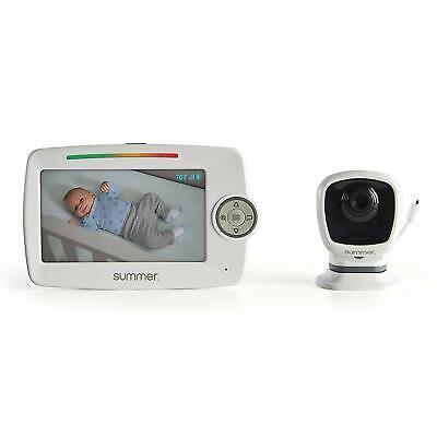 "Summer Lookout 5"" Video Baby Monitor - Digital Zoom, 1000ft Range, Two-Way Audio"