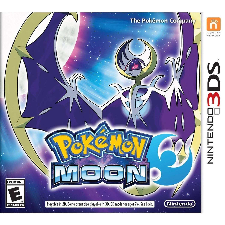 Pokemon Moon Nintendo 3ds Brand Us Version Fast Shipping