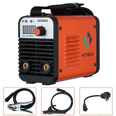 Hitbox At2000 Arc Stick Welding Machine 110220v Dual Volt Portable Arc Welder
