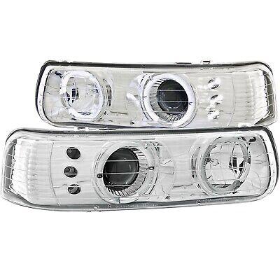 Anzo USA 111190 Projector Headlight Set w/Halo