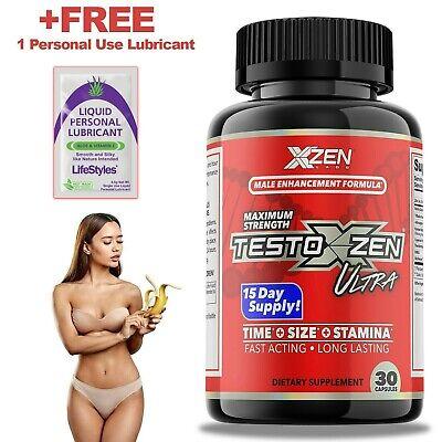 Stronger Male Enhancement Test Booster Sexual Formula for Men 30 Pills