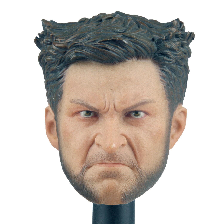 1//6 Young Wolverine Head Sculpt LOGAN for Phicen Worldbox Muscular figure