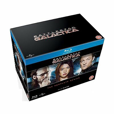 Battlestar Galactica Complete Series Blu Ray Box Set New Free Ship