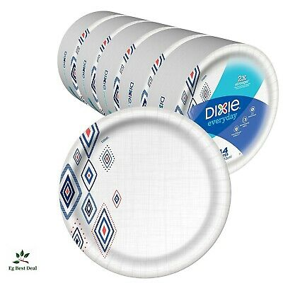 Bulk Paper Plates 220 Count Recyclable 10