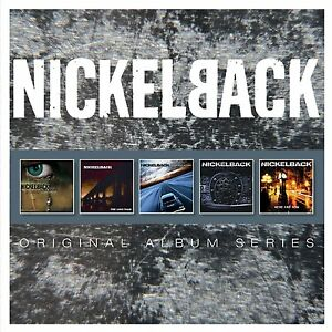 NICKELBACK ORIGINAL ALBUM SERIES 5CD ALBUM SET (2014)