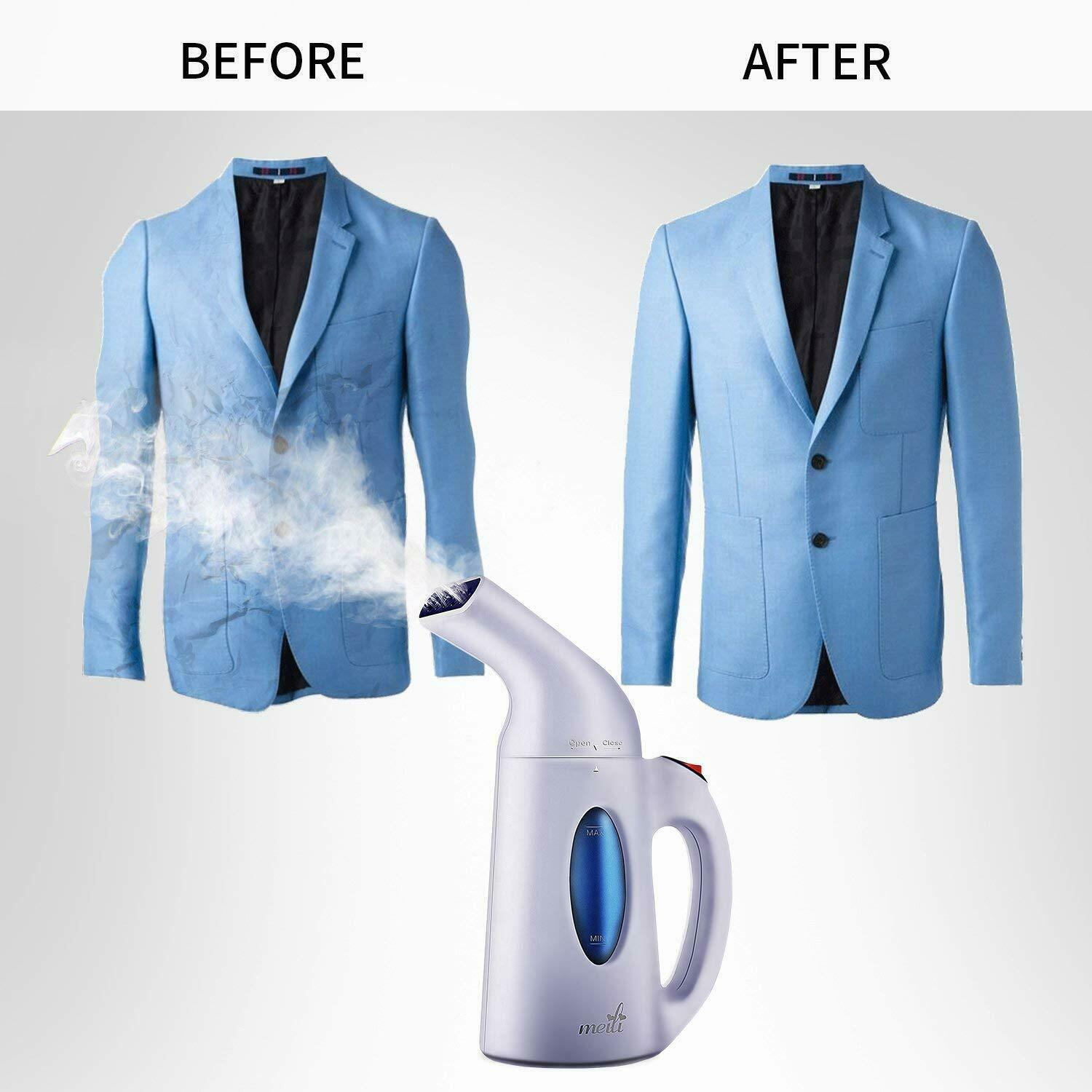Steamer for Clothes 7-in-1|Wrinkle Remover Clean Softens Ste