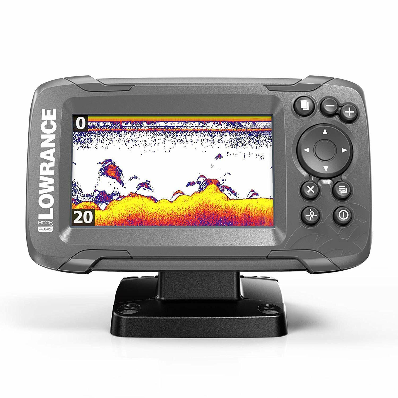 Fish Finder HOOK2 Bullet Transducer GPS Plotter 2-in-1 Sonar