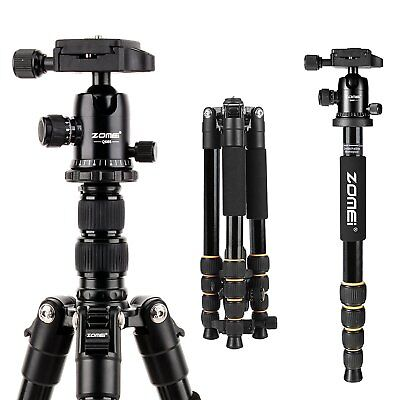 ZOMEI Q666 Portable Professional Tripod Monopod&Ball Head Travel for DSLR Camera segunda mano  Embacar hacia Argentina