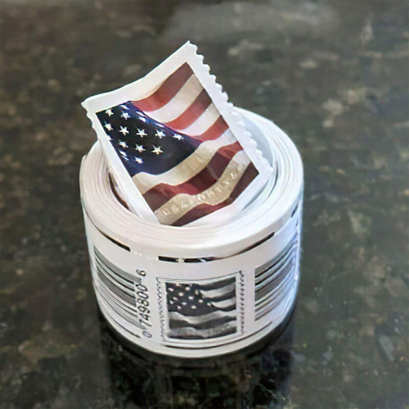 Stamps USPS 2017 US Flag Forever Roll of 100 Postage Stamps Free Shipping