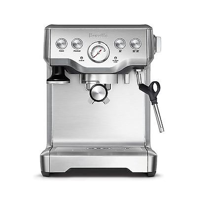 Breville BES840XL The Infuser Espresso Stainless Steel Coffee Maker Machine -NEW