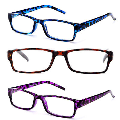Women Transluscent Giraffe Print Reading Glasses Purple Brown and Blue Readers Giraffe Print Fashion