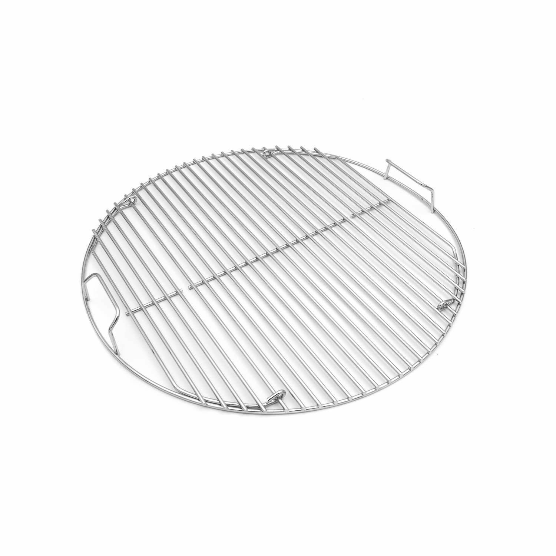 Weber Grillrost für Holzkohlegrills mit 47cm Ø, klappbar, aus Stahl (8414)