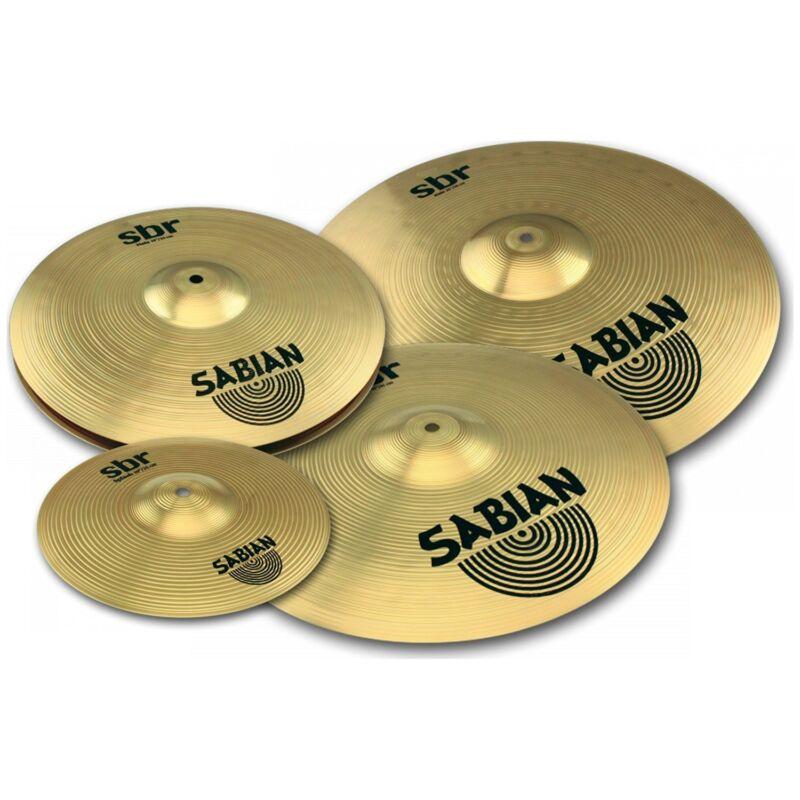 Sabian SBR5003G SBR Promotional Cymbal Set with 10