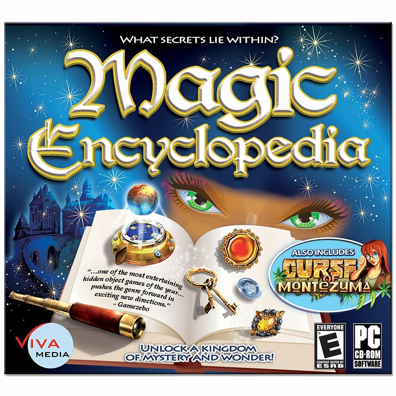 Computer Games - Magic Encyclopedia PC Games Windows 10 8 7 XP Computer hidden object seek & find