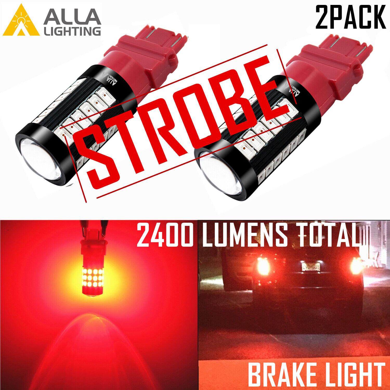 3057K STROBE Bright Red Brake Light|Center High Mount Stop Light|Cornering Light