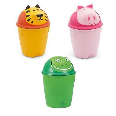 Prullenbak voor kinderen Curver, vuilnisbak, decoratie voor kinderen, 10 l,mand