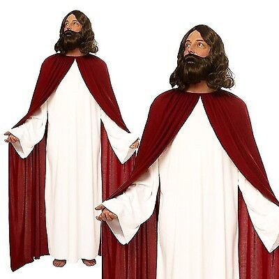 Jesus Christ Cosplay Costume Religious Holy Man Outfit Halloween Fancy Dress