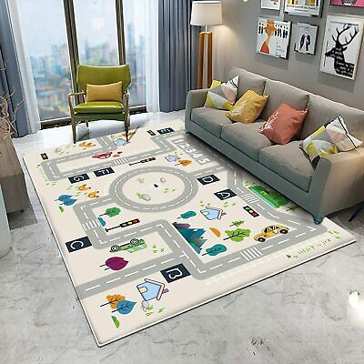 Rugs for Bedroom Playroom Carpet Chair Mats for Carpeted Floors
