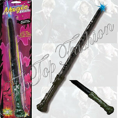 NEU Harry Potter Style Magic Zauberstab mit Licht und Ton Halloween Wizard Stick (Harry Styles Und Halloween)