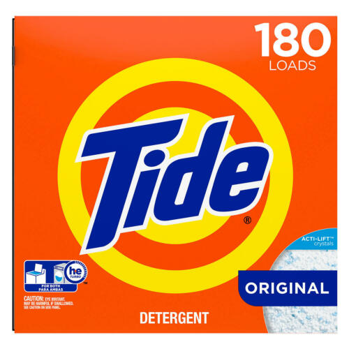 Tide HE Ultra Powder Laundry Detergent (254 oz., 180 loads) Free Shipping