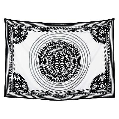 Elephant Mandala Wall Hanging Best Christmas Gifts Beach Blanket Cotton