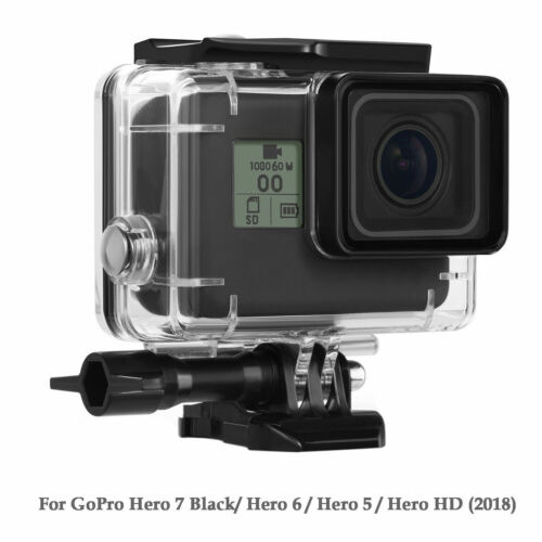Waterproof Housing Case for GoPro Hero 7 Black 6 5 Protective Shell with Bracket