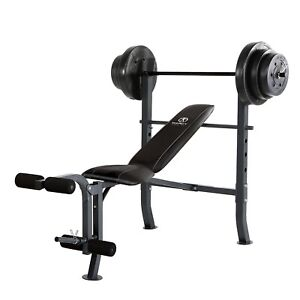 Adjustable 6 Position Utility Bench with Foam Padding