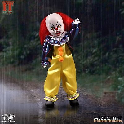 ennywise der Clown Film 25.4cm Nib Living Dead Puppe 99120 (Pennywise, Der Clown)