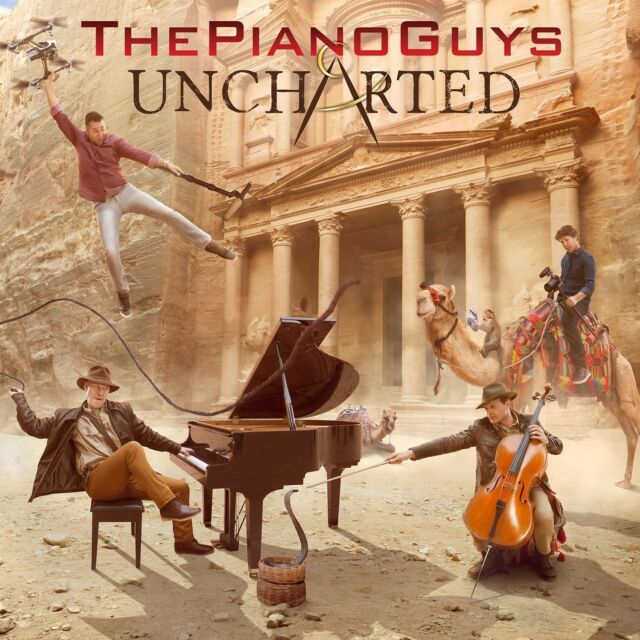 THE PIANO GUYS - UNCHARTED  CD NEU