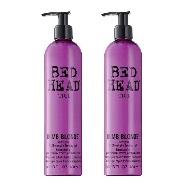 Tigi Bed Head Dumb Blonde Shampoo 2x400ml