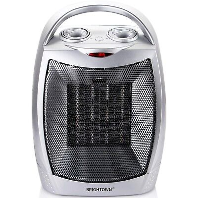 Quiet Space Heater For Indoor Use Best Ceramic Electric Fan Desk Home