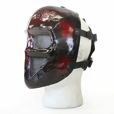 BBTac Airsoft Face Mask Protection Red Terror Ghost Recon Halloween - Ghost Recon Halloween Costume